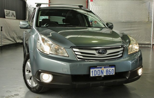 Used Subaru Outback 2.5i Lineartronic AWD, Myaree, 2010 Subaru Outback 2.5i Lineartronic AWD Wagon