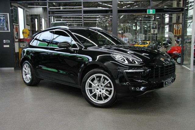 Used Porsche Macan S PDK AWD Diesel, North Melbourne, 2016 Porsche Macan S PDK AWD Diesel Wagon