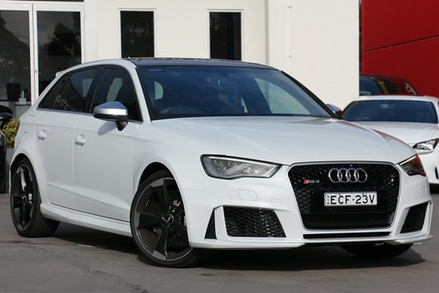 Used Audi RS 3 Sportback S Tronic Quattro, Southport, 2016 Audi RS 3 Sportback S Tronic Quattro Hatchback