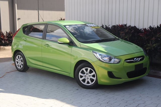 Used Hyundai Accent Active, Cairns, 2014 Hyundai Accent Active Hatchback