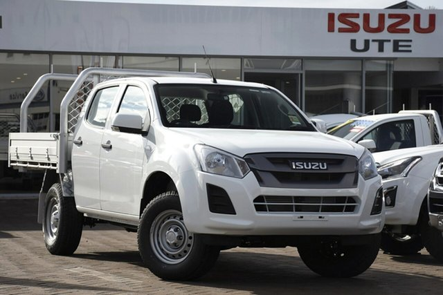Discounted New Isuzu D-MAX SX Crew Cab 4x2 High Ride, Warwick Farm, 2019 Isuzu D-MAX SX Crew Cab 4x2 High Ride Cab Chassis