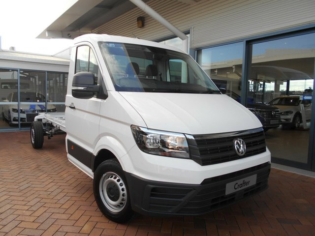 Discounted New Volkswagen Crafter 35 LWB FWD TDI410, Toowoomba, 2019 Volkswagen Crafter 35 LWB FWD TDI410 Cab Chassis