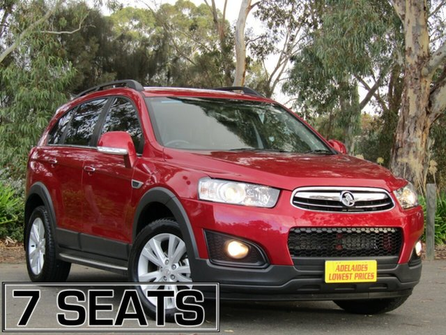 Used Holden Captiva 7 AWD LT, Enfield, 2015 Holden Captiva 7 AWD LT Wagon