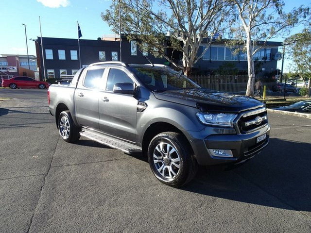 Used Ford Ranger Wildtrak Double Cab, Nowra, 2018 Ford Ranger Wildtrak Double Cab Utility
