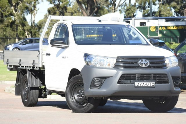 Used Toyota Hilux Workmate 4x2, Warwick Farm, 2018 Toyota Hilux Workmate 4x2 Cab Chassis