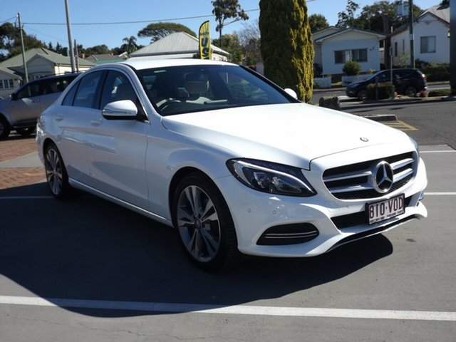 Discounted Used Mercedes-Benz C200 BlueTEC 7G-Tronic +, Toowoomba, 2015 Mercedes-Benz C200 BlueTEC 7G-Tronic + Sedan