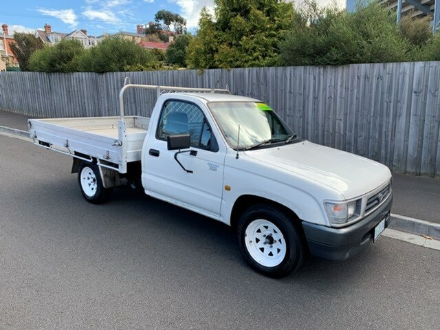 Used Toyota Hilux Workmate, North Hobart, 1999 Toyota Hilux Workmate Cab Chassis