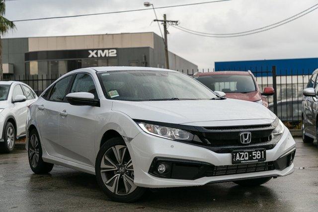 Demonstrator, Demo, Near New Honda Civic VTi-L, Oakleigh, 2019 Honda Civic VTi-L 10th Gen MY19 Sedan
