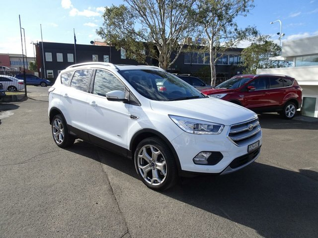 Used Ford Escape Titanium PwrShift AWD, Nowra, 2018 Ford Escape Titanium PwrShift AWD Wagon