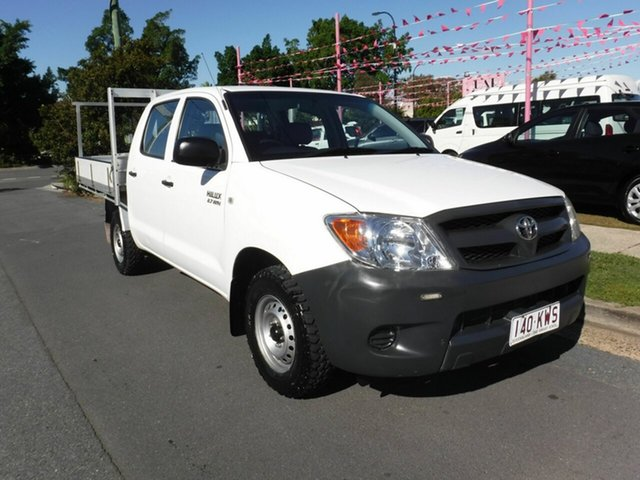 Used Toyota Hilux Workmate, Margate, 2008 Toyota Hilux Workmate Dual Cab