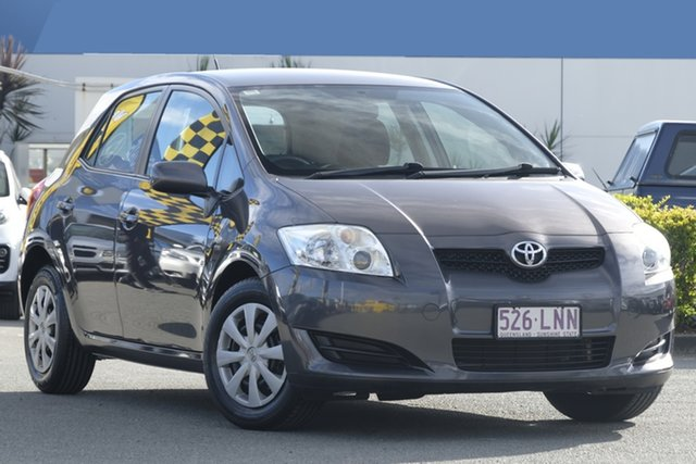 Used Toyota Corolla Ascent, Toowong, 2009 Toyota Corolla Ascent Hatchback