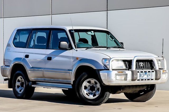 Used Toyota Landcruiser Prado GXL, Pakenham, 2001 Toyota Landcruiser Prado GXL Wagon