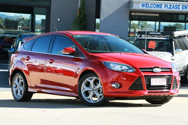 Used Ford Focus Sport PwrShift, Indooroopilly, 2014 Ford Focus Sport PwrShift Hatchback