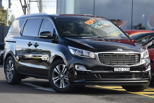 Discounted Demonstrator, Demo, Near New Kia Carnival SLi, Warwick Farm, 2018 Kia Carnival SLi Wagon