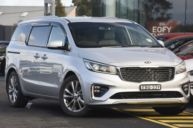 Discounted Demonstrator, Demo, Near New Kia Carnival Platinum, Warwick Farm, 2018 Kia Carnival Platinum Wagon