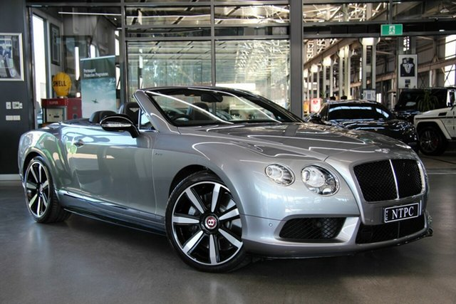 Used Bentley Continental GT V8 S, North Melbourne, 2015 Bentley Continental GT V8 S Convertible