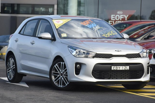 Demonstrator, Demo, Near New Kia Rio Sport, Warwick Farm, 2019 Kia Rio Sport Hatchback