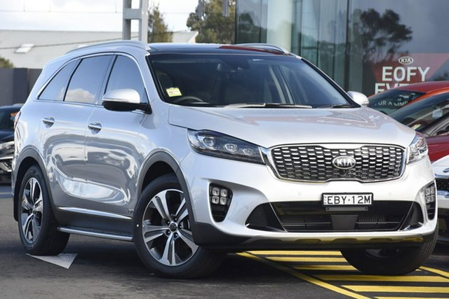 Discounted Demonstrator, Demo, Near New Kia Sorento GT-Line AWD, Warwick Farm, 2019 Kia Sorento GT-Line AWD SUV