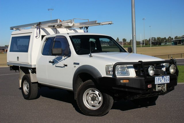 Used Ford Ranger XL Super Cab, Officer, 2008 Ford Ranger XL Super Cab Cab Chassis
