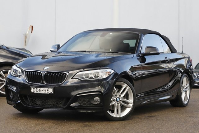 Used BMW 220i M Sport, Brookvale, 2015 BMW 220i M Sport Convertible