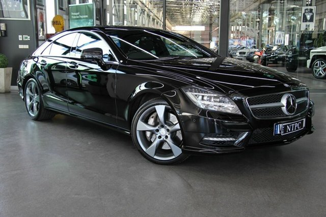 Used Mercedes-Benz CLS500 Coupe 9G-Tronic PLUS, North Melbourne, 2014 Mercedes-Benz CLS500 Coupe 9G-Tronic PLUS Sedan
