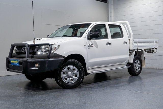 Used Toyota Hilux SR (4x4), Slacks Creek, 2011 Toyota Hilux SR (4x4) Dual Cab Chassis
