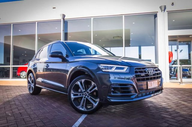 Discounted Demonstrator, Demo, Near New Audi Q5 50 TDI Sport Tiptronic Quattro Black Edition, Toowoomba, 2019 Audi Q5 50 TDI Sport Tiptronic Quattro Black Edition Wagon