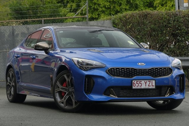 Demonstrator, Demo, Near New Kia Stinger GT Fastback, Toowong, 2019 Kia Stinger GT Fastback Sedan