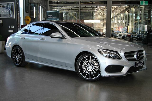 Used Mercedes-Benz C250 7G-Tronic +, North Melbourne, 2016 Mercedes-Benz C250 7G-Tronic + Sedan