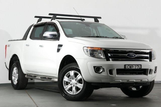 Used Ford Ranger XLT Double Cab, Campbelltown, 2014 Ford Ranger XLT Double Cab Utility