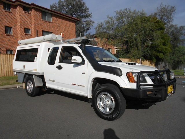 Used Holden Colorado LX (4x4), Bankstown, 2010 Holden Colorado LX (4x4) Space Cab Chassis