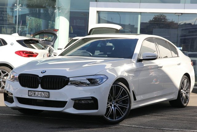 Used BMW 540i M Sport, Brookvale, 2018 BMW 540i M Sport Sedan
