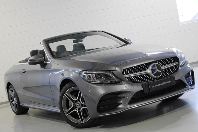 Used Mercedes-Benz C-Class C200 9G-Tronic, Chatswood, 2018 Mercedes-Benz C-Class C200 9G-Tronic Cabriolet