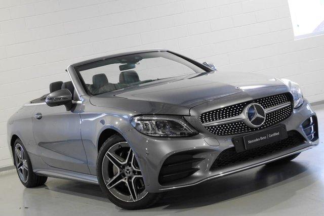 Used Mercedes-Benz C200 9G-Tronic, Warwick Farm, 2018 Mercedes-Benz C200 9G-Tronic Cabriolet