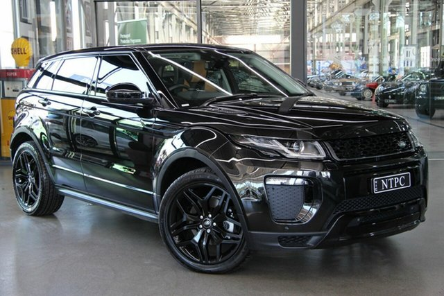 Used Land Rover Range Rover Evoque TD4 180 HSE Dynamic, North Melbourne, 2016 Land Rover Range Rover Evoque TD4 180 HSE Dynamic Wagon