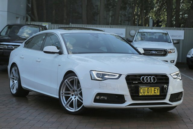 Used Audi A5 Sportback S Tronic Quattro, Artarmon, 2014 Audi A5 Sportback S Tronic Quattro Hatchback