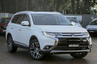 2015 Mitsubishi Outlander Exceed 4WD Wagon.