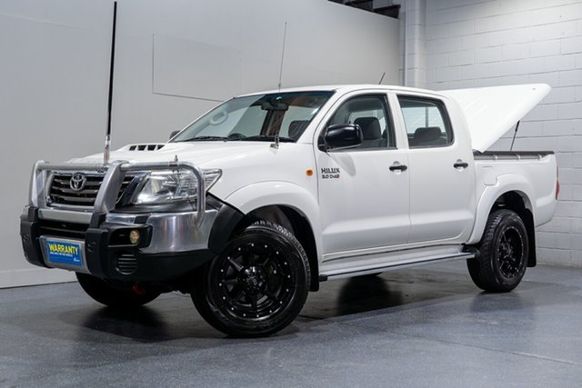 Used Toyota Hilux SR (4x4), Slacks Creek, 2011 Toyota Hilux SR (4x4) Dual Cab Pick-up