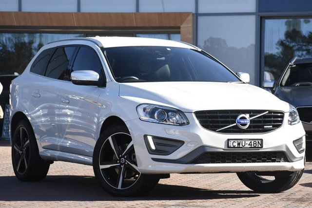 Discounted Used Volvo XC60 D5 Geartronic AWD R-Design, Warwick Farm, 2014 Volvo XC60 D5 Geartronic AWD R-Design SUV