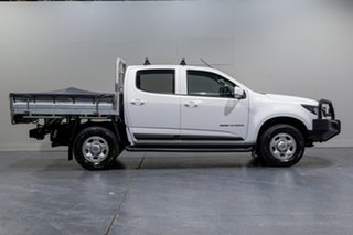 2016 Holden Colorado LS (4x4) Crew Cab Chassis.