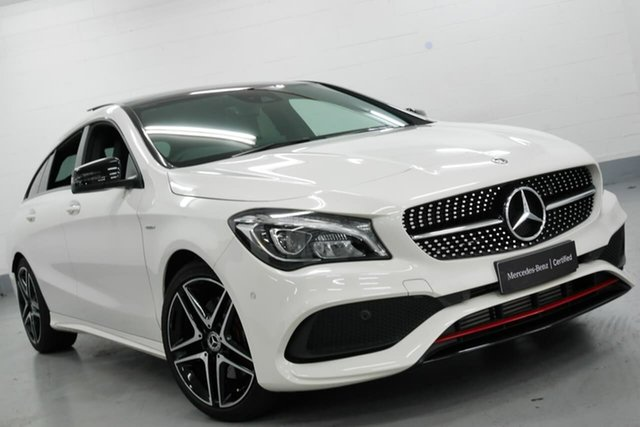 Used Mercedes-Benz CLA250 Sport Shooting Brake DCT 4MATIC, Warwick Farm, 2018 Mercedes-Benz CLA250 Sport Shooting Brake DCT 4MATIC Wagon