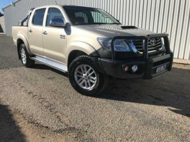 Used Toyota Hilux SR5 (4x4), Wangaratta, 2013 Toyota Hilux SR5 (4x4) Dual Cab Pick-up