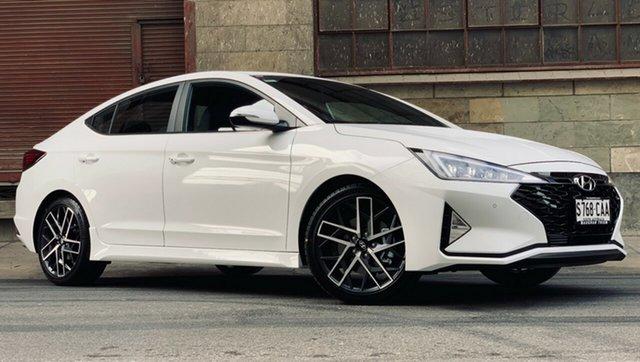 Demonstrator, Demo, Near New Hyundai Elantra Sport DCT Premium, Cheltenham, 2019 Hyundai Elantra Sport DCT Premium Sedan