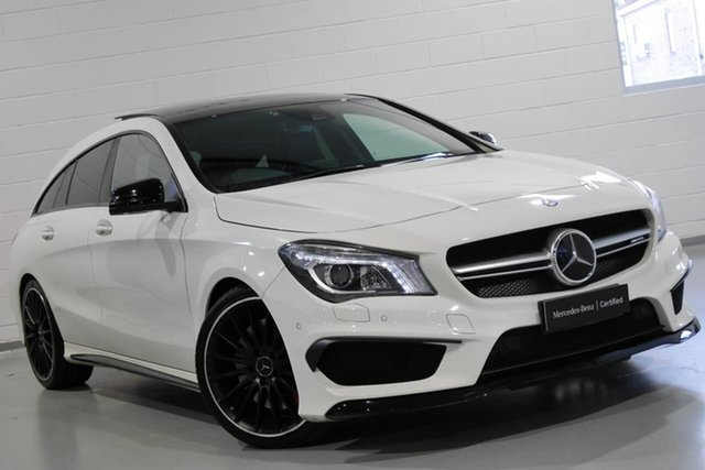 Used Mercedes-Benz CLA45 AMG Shooting Brake SPEEDSHIFT DCT 4MATIC, Warwick Farm, 2016 Mercedes-Benz CLA45 AMG Shooting Brake SPEEDSHIFT DCT 4MATIC Wagon