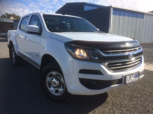 Used Holden Colorado LS (4x4), Wangaratta, 2017 Holden Colorado LS (4x4) Crew Cab Pickup