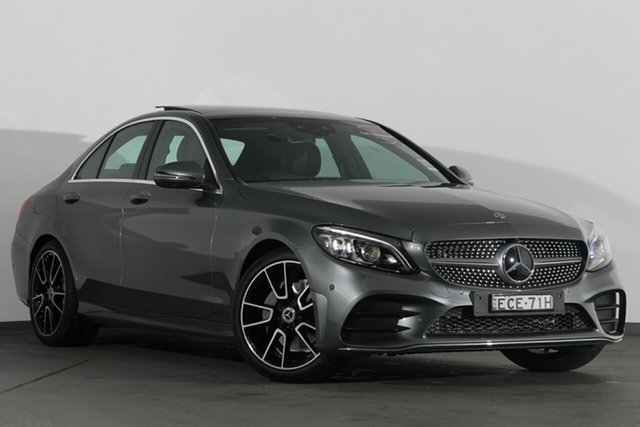 Demonstrator, Demo, Near New Mercedes-Benz C200 9G-Tronic, Campbelltown, 2019 Mercedes-Benz C200 9G-Tronic Sedan