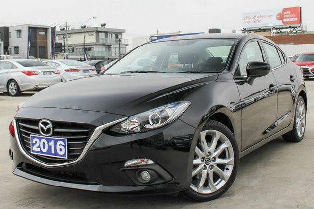 Used Mazda 3 SP25 SKYACTIV-Drive, Coburg North, 2016 Mazda 3 SP25 SKYACTIV-Drive Sedan
