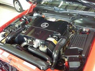1992 Mercedes-Benz 500 SL Convertible.