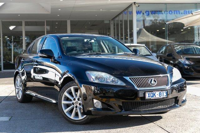 Used Lexus IS250 Sports Luxury, Mulgrave, 2010 Lexus IS250 Sports Luxury GSE20R 09 Upgrade Sedan