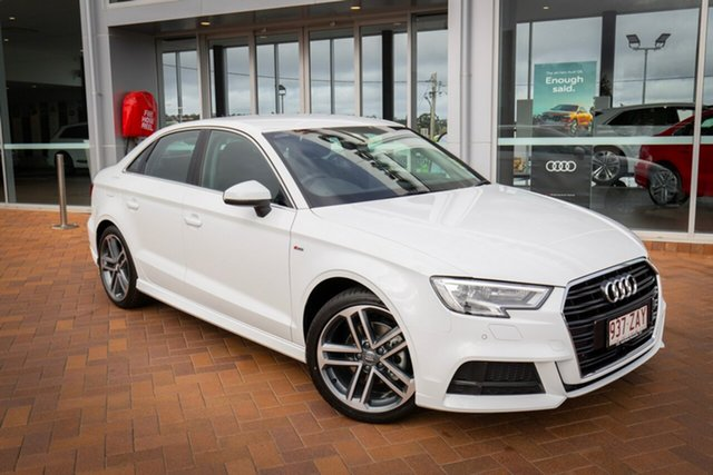 Demonstrator, Demo, Near New Audi A3 35 TFSI S Tronic, Toowoomba, 2019 Audi A3 35 TFSI S Tronic Sedan
